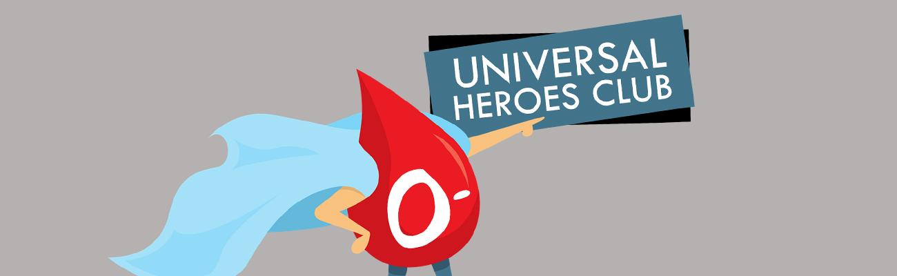 Universal O- Heroes Club