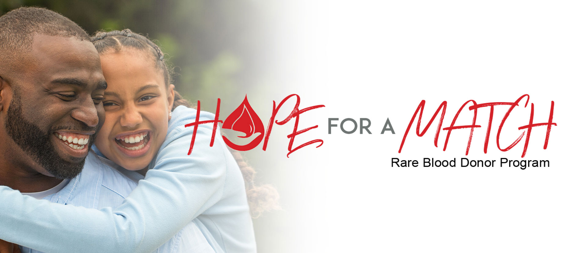 Hope For A Match Rare Blood Donor Program