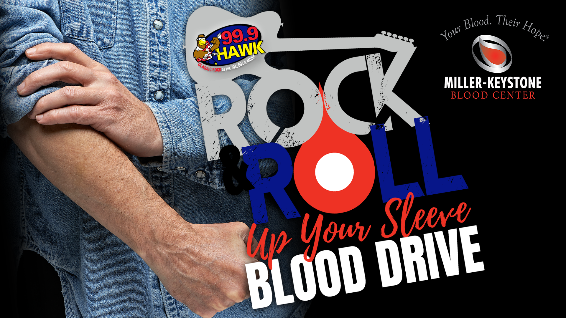 Rock & Roll Up Your Sleeve Blood Drive