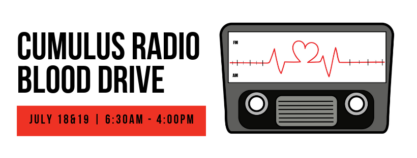 2019 Cumulus Radio Blood Drive