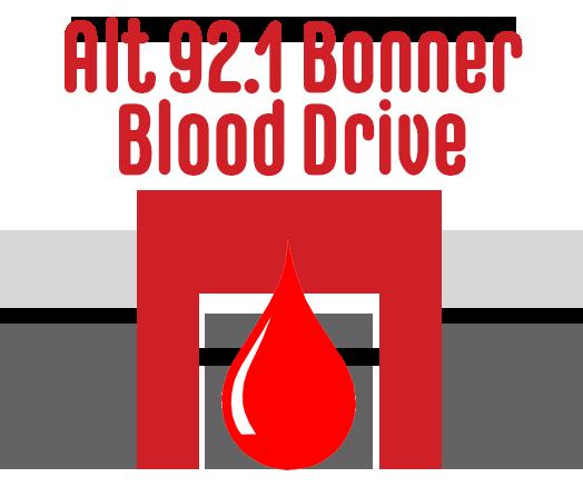 Alt 92.1 Bonner Blood Drive
