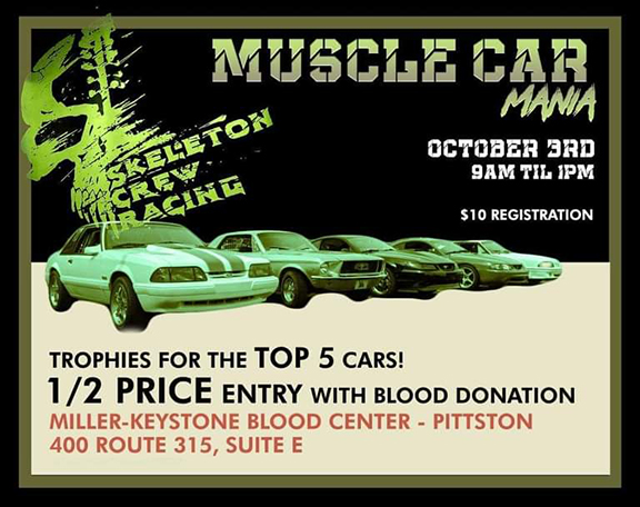 Blood Drive at Muscle Car Madness