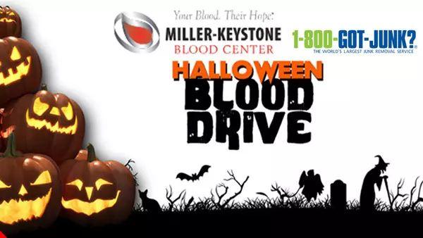 Halloween Blood Drive with B104 & WZZO