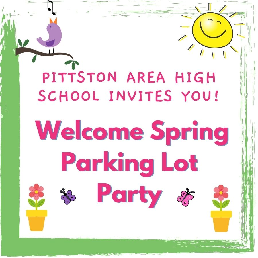 Welcome Spring Parking Lot Party